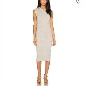 James Perse BodyCon Ribbed Dress